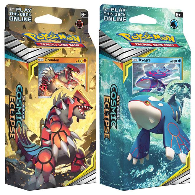 Pokemon - Sun & Moon - Cosmic Eclipse - Theme Decks - Groudon & Kyogre