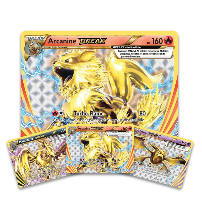 Pokemon - Arcanine - BREAK Evolution Box
