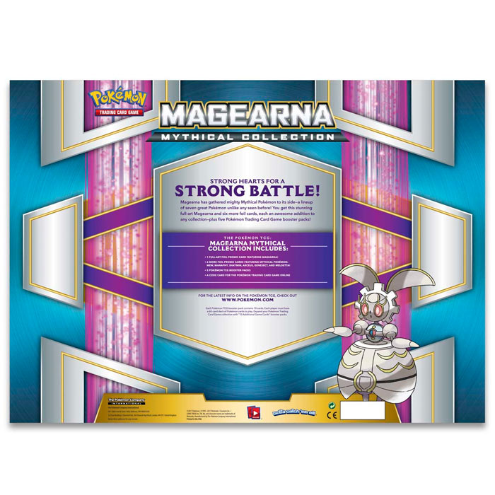 Pokemon - Magearna Mythical Collection Box