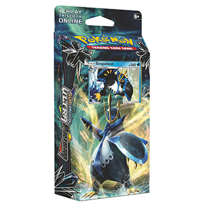 Pokemon - Sun & Moon - Ultra Prism - Garchomp & Empoleon Theme Decks