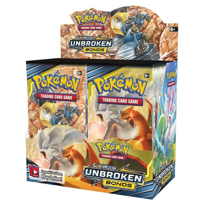 Pokemon - Sun & Moon - Unbroken Bonds - Booster Box