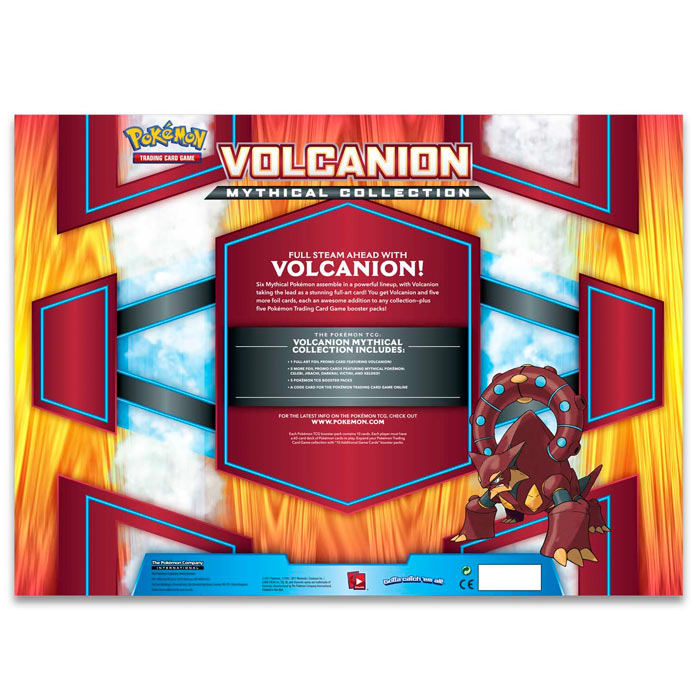 Pokemon - Volcanion Mythical Collection Box