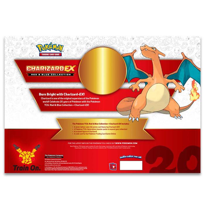 Pokemon - Red & Blue Collection - Charizard EX Box