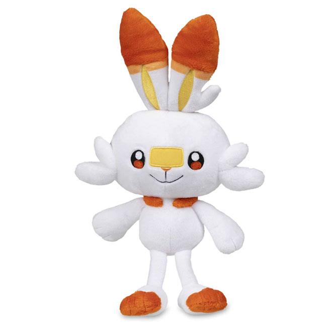 Pokemon - Scorbunny Plush