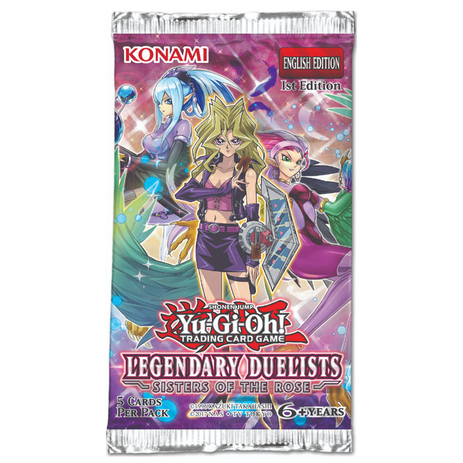 Yu-Gi-Oh! - Legendary Duelists - Sisters of the Rose - Booster Pack