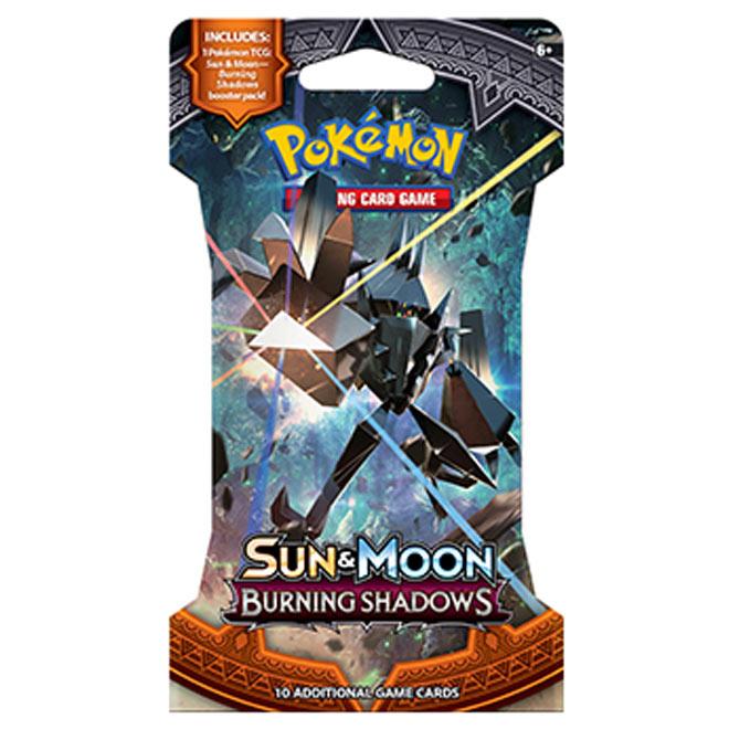 Pokemon - Sun & Moon - Burning Shadows - Blister Booster
