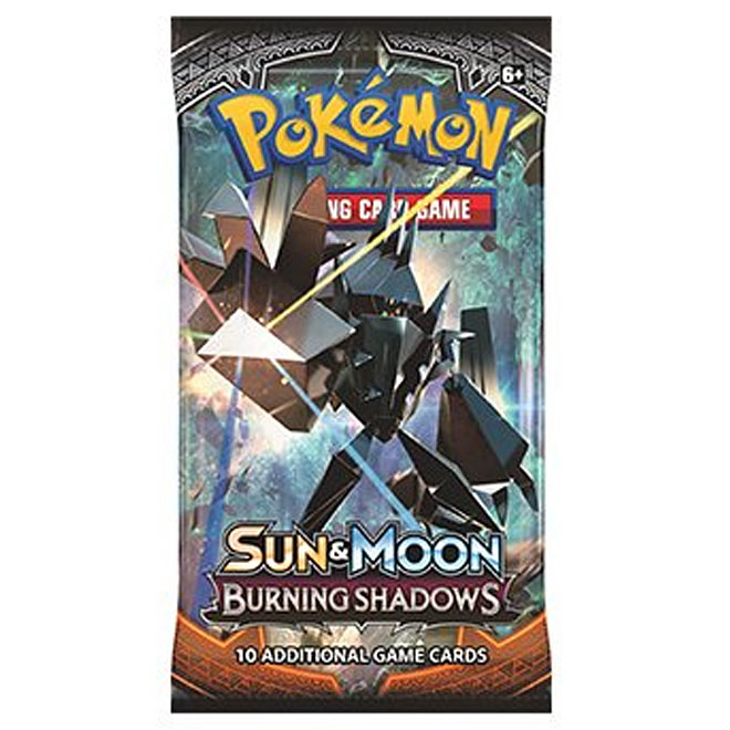 Pokemon - Sun & Moon - Burning Shadows - Booster Pack