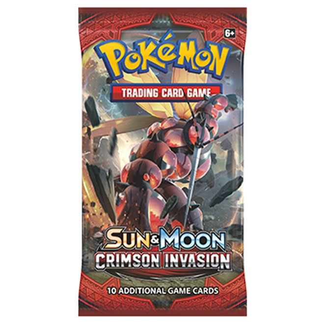 Pokemon - Sun & Moon - Crimson Invasion - Booster Pack