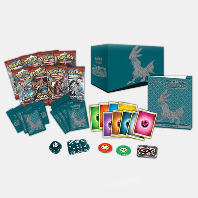 Pokemon - Sun & Moon - Crimson Invasion - Elite Trainer Box