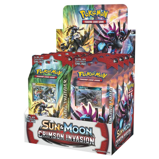 Pokemon - Sun & Moon - Crimson Invasion - Theme Deck Set (Hydreigon & Kommo-o)