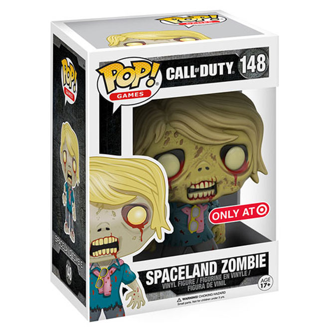 Funko POP! - Call Of Duty Spaceland Zombie  #148