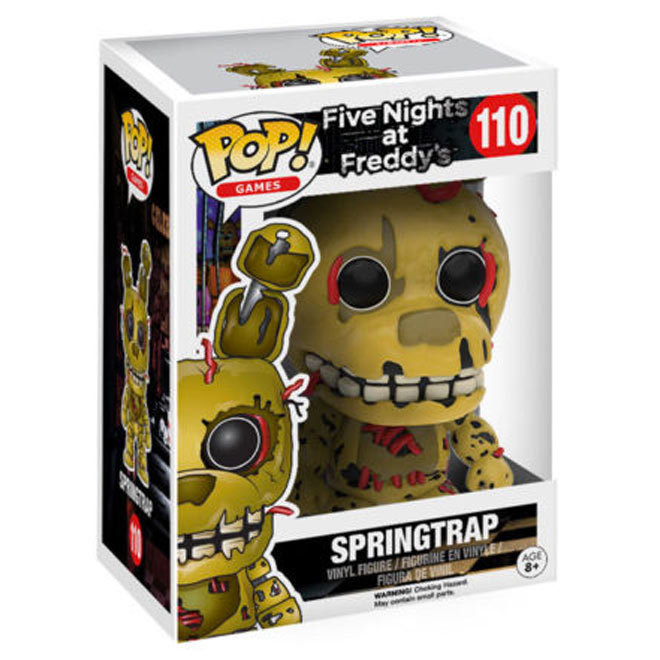 Funko POP! - Five Nights at Freddy's - Springtrap #110