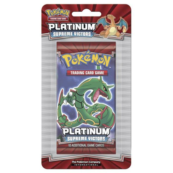 Platinum - Supreme Victors - Blister Booster Pack