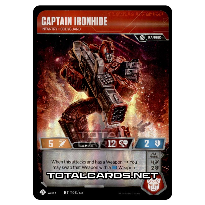 Transformers - War for Cybertron Siege I - Captain Ironhide - RT003