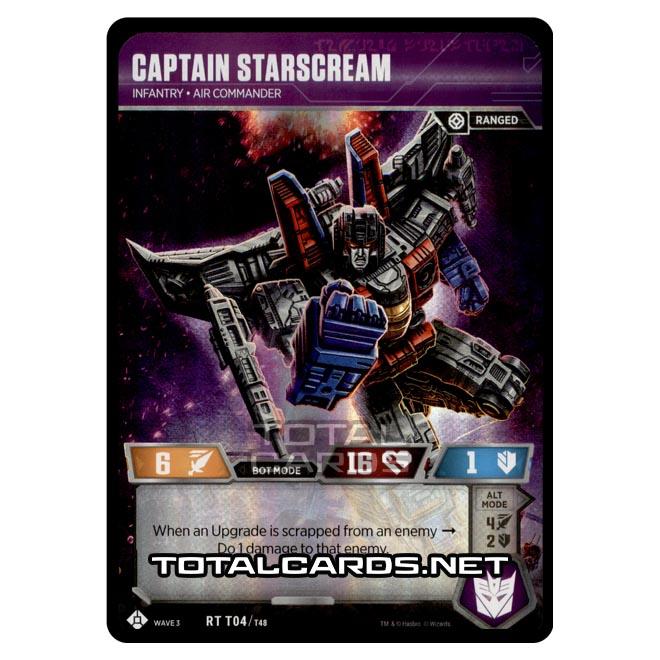 Transformers - War for Cybertron Siege I - Captain Starscream - RT004
