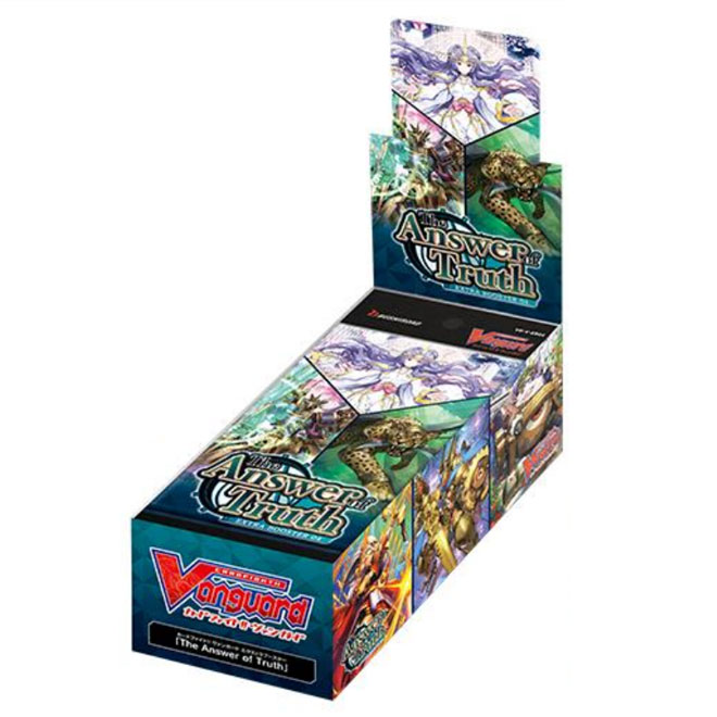 Cardfight!! Vanguard V - The Answer of Truth Extra Booster Box - (12 Packs)