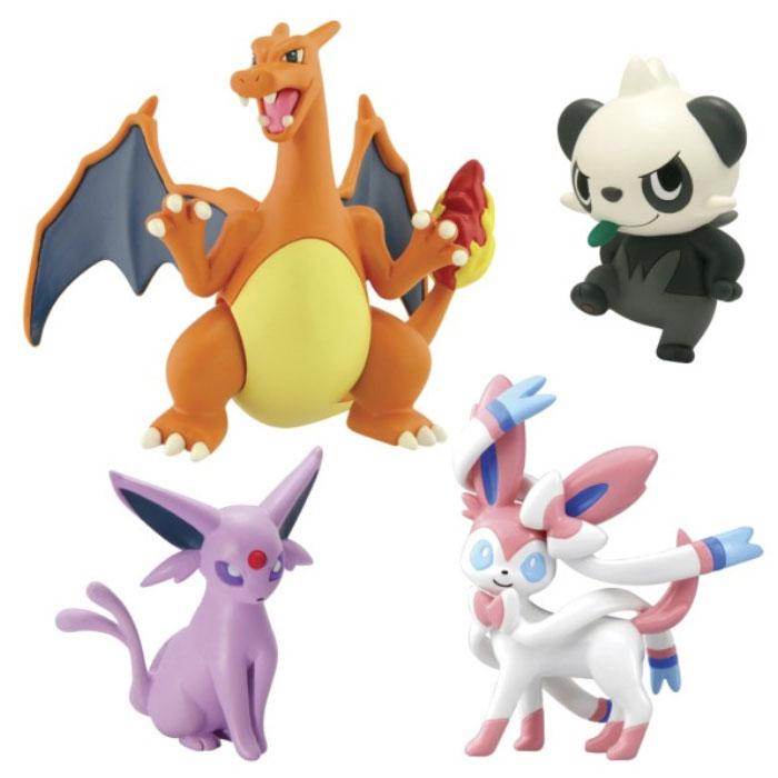Pokemon 4-Figure Gift Pack: Charizard, Sylveon, Espeon and Pancham
