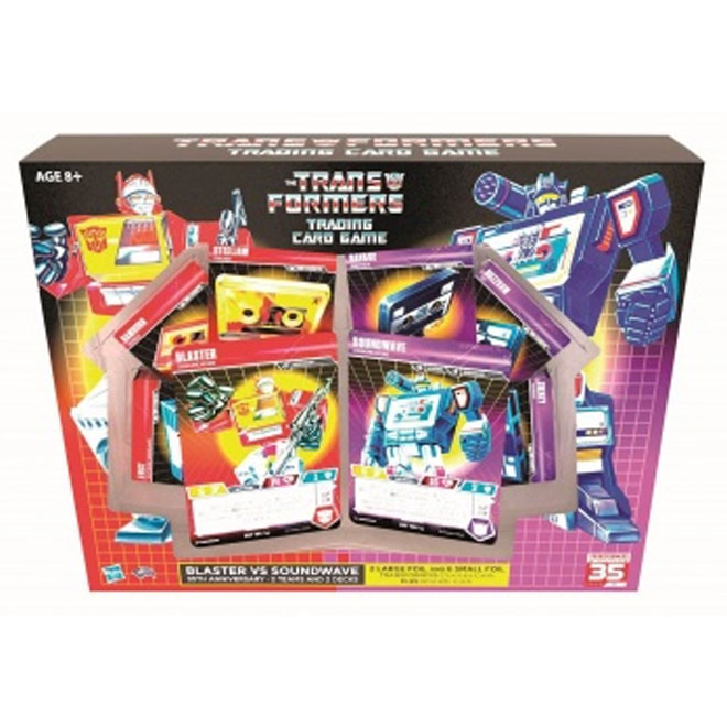 Transformers TCG - Blaster vs Soundwave Deck - 35th Anniversary Edition