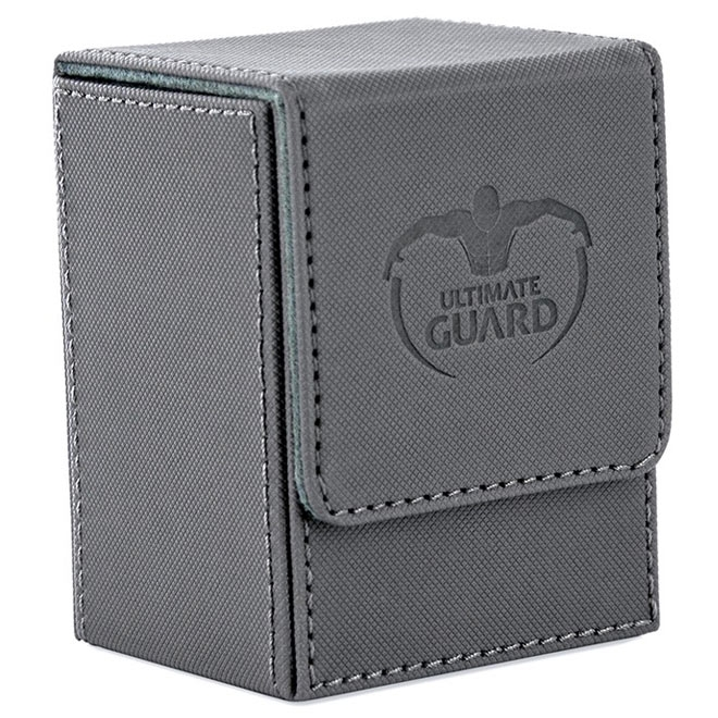 Ultimate Guard - Flip Deck Case 80 Xenoskin - Grey