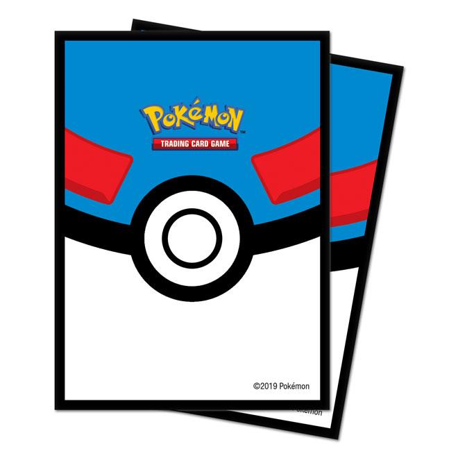 Ultra Pro - Standard Sleeves Pokemon - Great Ball (65 Sleeves)