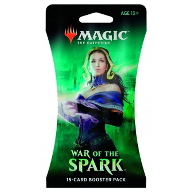 Magic The Gathering - War of the Spark - Sleeved Booster Pack