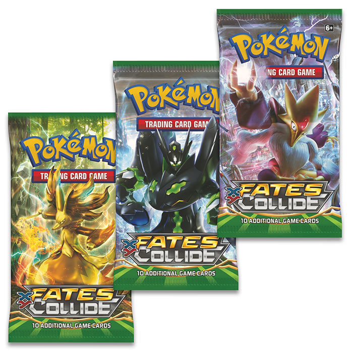 XY - 3 Pack - Zygarde Pin Blister