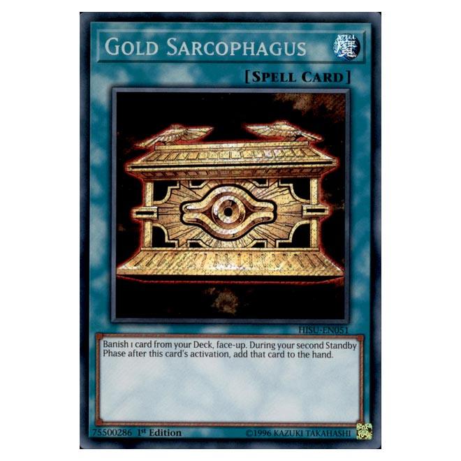 Yugioh - Hidden Summoners - Gold Sarcophagus (Secret Rare) DBHS-051