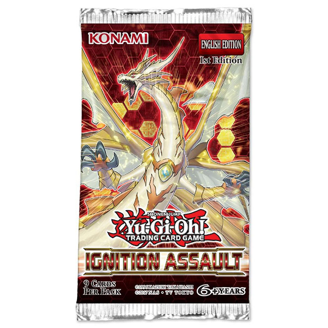 Yu-Gi-Oh! - Ignition Assault - Booster Pack