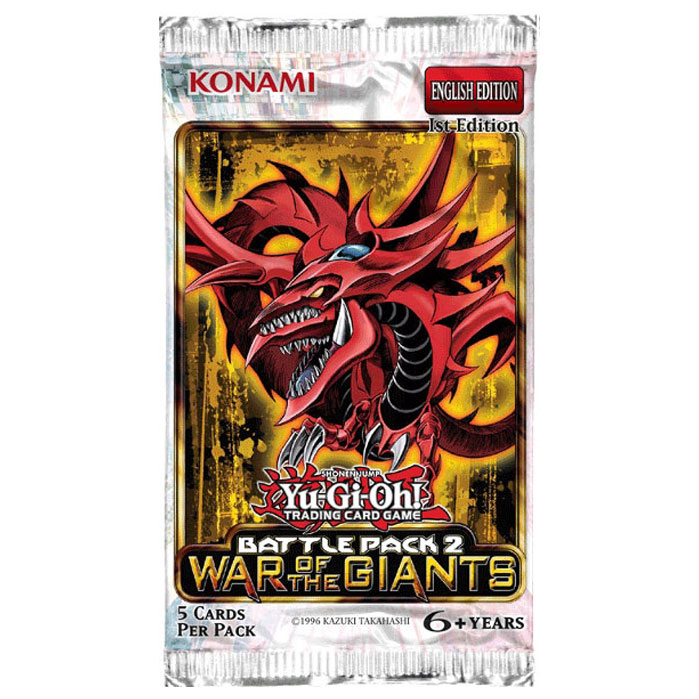 Yu-Gi-Oh - Battle Pack 2: War of the Giants - Booster Pack