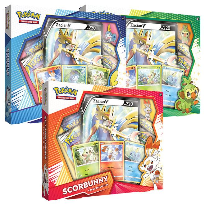 Pokemon - Galar Collection Box - Zacian Triple Bundle