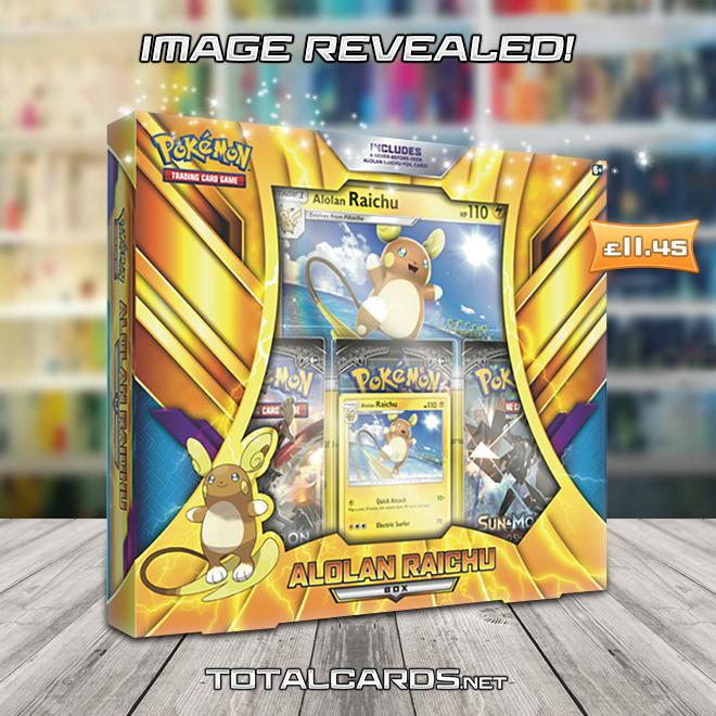 Alolan Raichu Box Brand New And Sealed! Pokemon TCG
