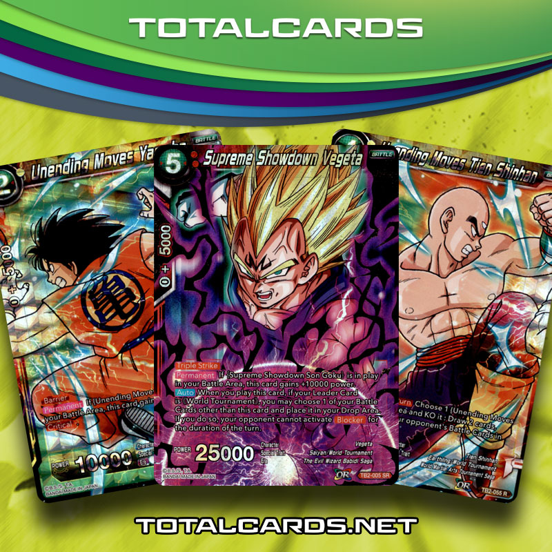 DragonBall Super Card Game World Martial Art Tournament Singles Now Available on the Store!