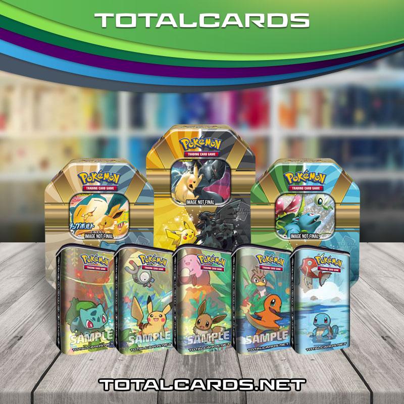 Kanto Mini Tins Display NEW! Pokémon TCG