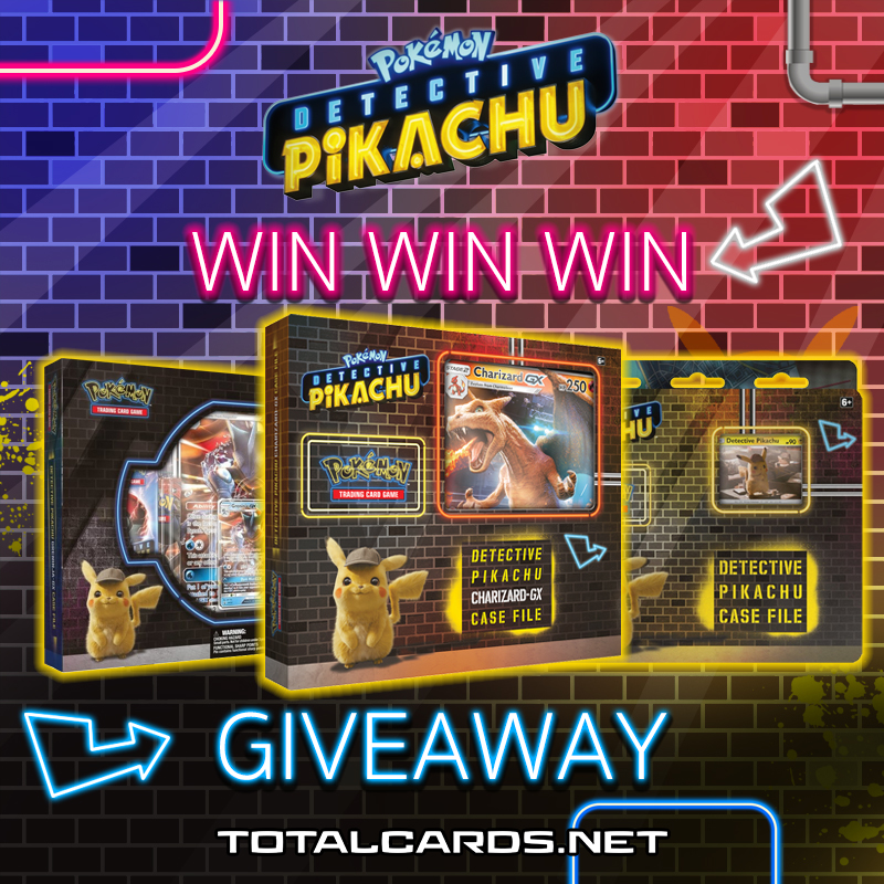 Win 3 Detective Pikachu Tcg Products Totalcards Net