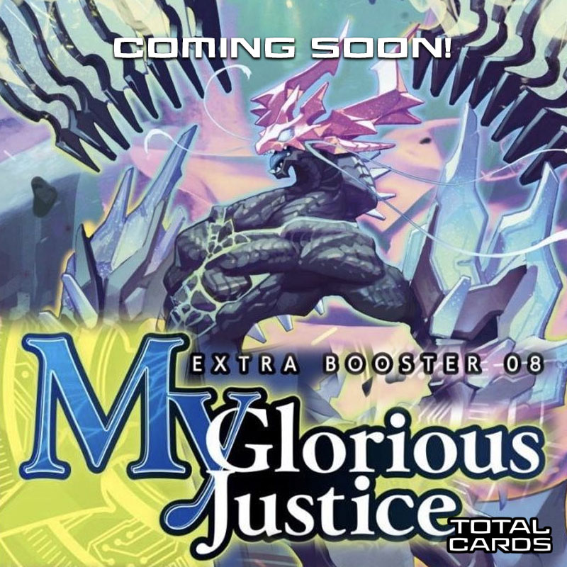 Cardfight Vanguard V - My Glorious Justice Extra Booster Display - Now Available to Pre-Order!!!