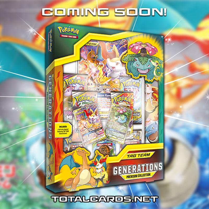 TAG TEAM Generations Premium Collection Pokemon TCG *PRE-ORDER* Sun /& Moon