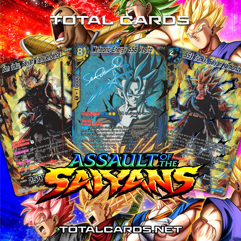 Dragon Ball Super B07 Assault of the Saiyans Single Cards Now Available!!!