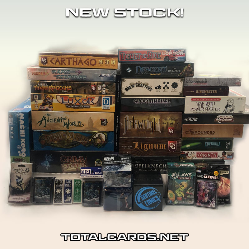 Loads and Loads of New Board Games!!!