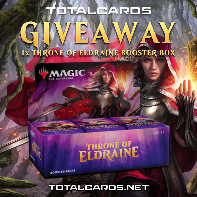 Magic The Gathering Throne of Eldraine Booster Box Giveaway