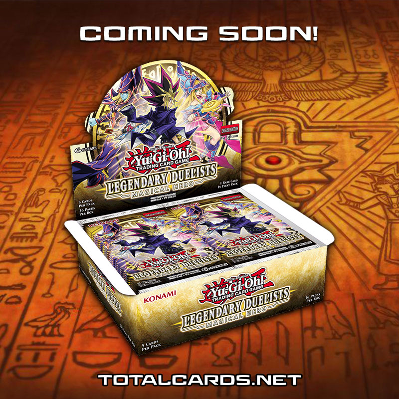 Yu-Gi-Oh! Legendary Duelist - Magical Hero Now Available to Pre-Order