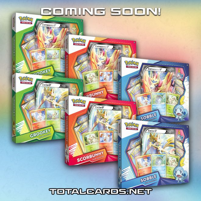 Pokemon - Galar Collection Coming Soon!!