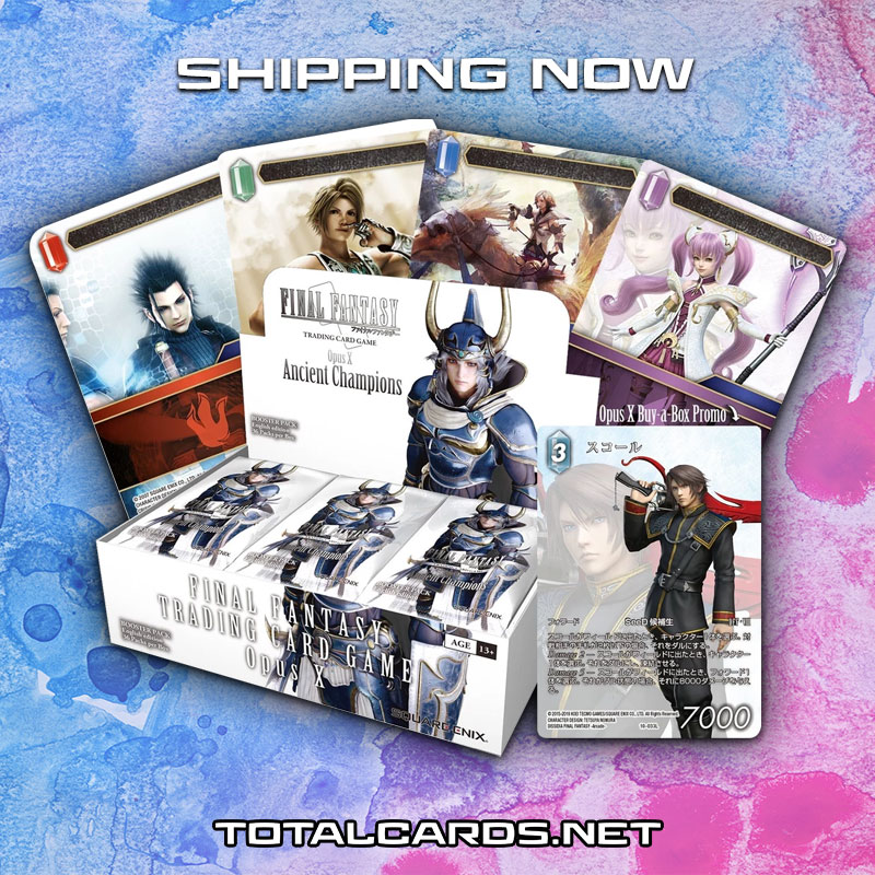 Final Fantasy - Opus X - Ancient Champions Shipping Now!!