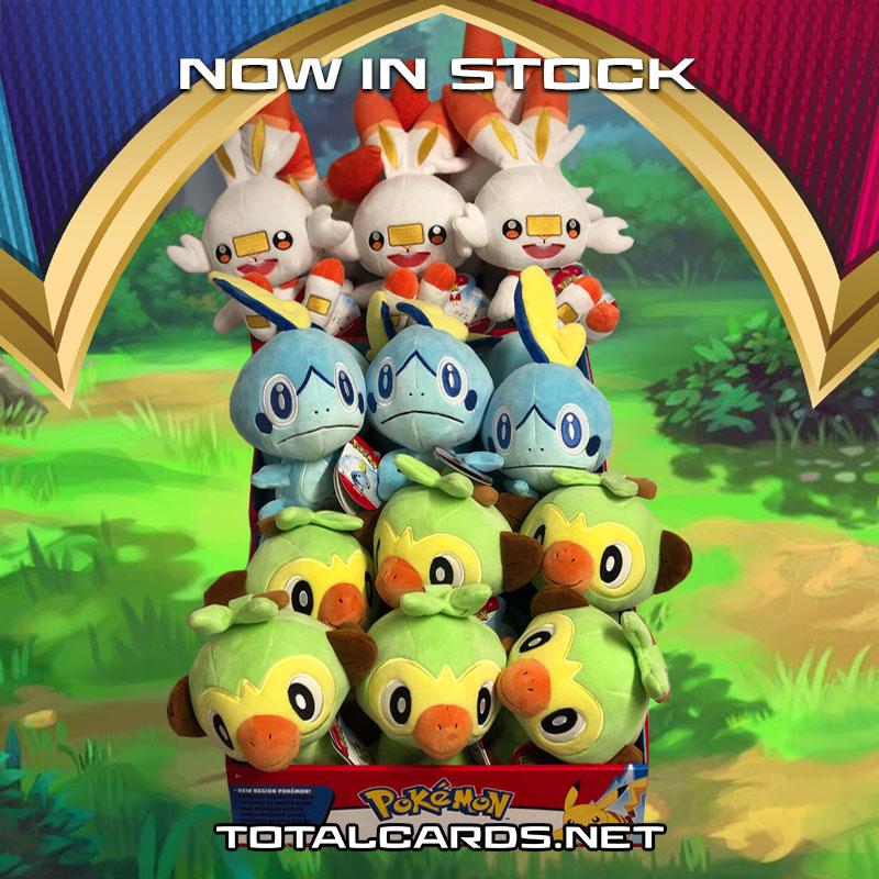 Galar Starter Pokemon Have Arrived!!