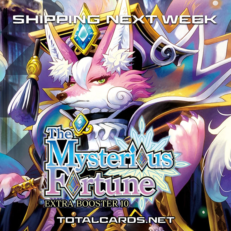 Cardfight Vanguard The Mysterious Fortune Shipping Next Week