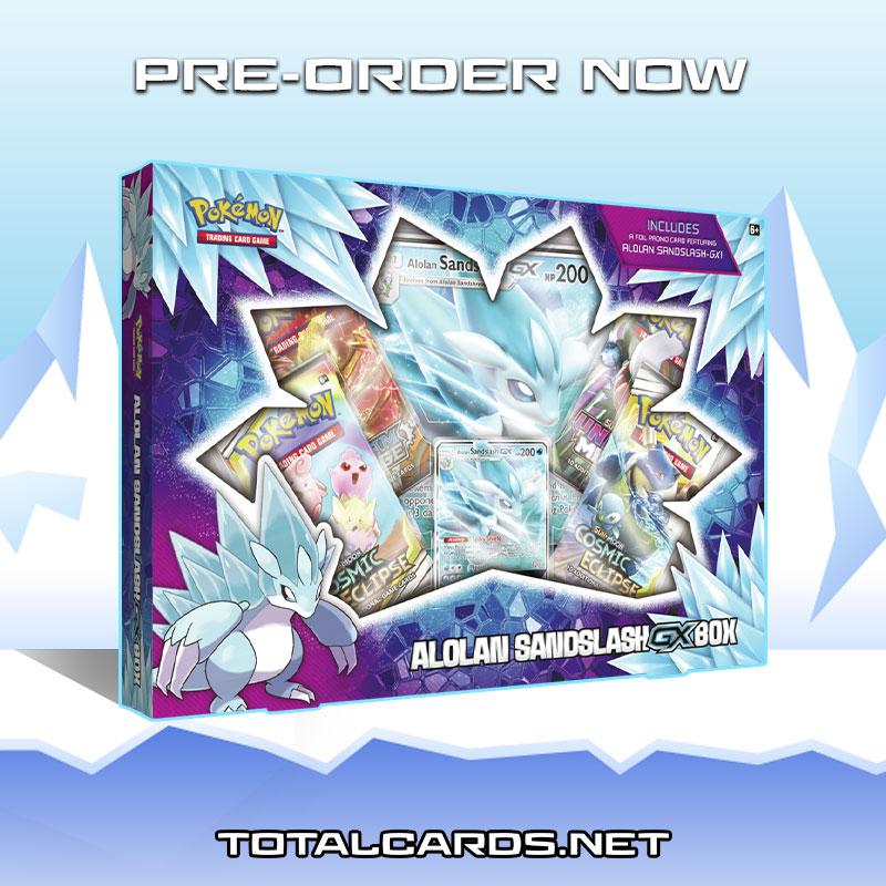 Pokemon - Alolan Sandslash-GX Box Coming Soon!!