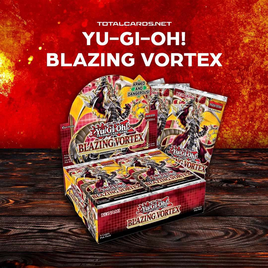 Yu-Gi-Oh! Blazing Vortex is Available for Pre-order Now