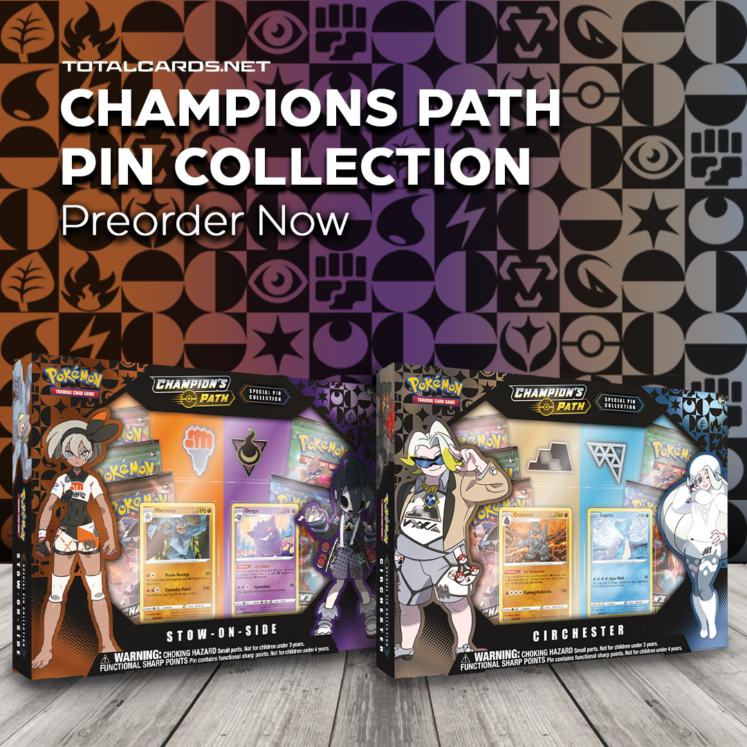 Pokemon Champions Path Special Pin Collection Releasing Next Week