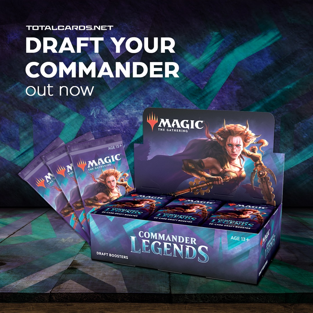 Magic the Gathering: Commander Legends is Out Now