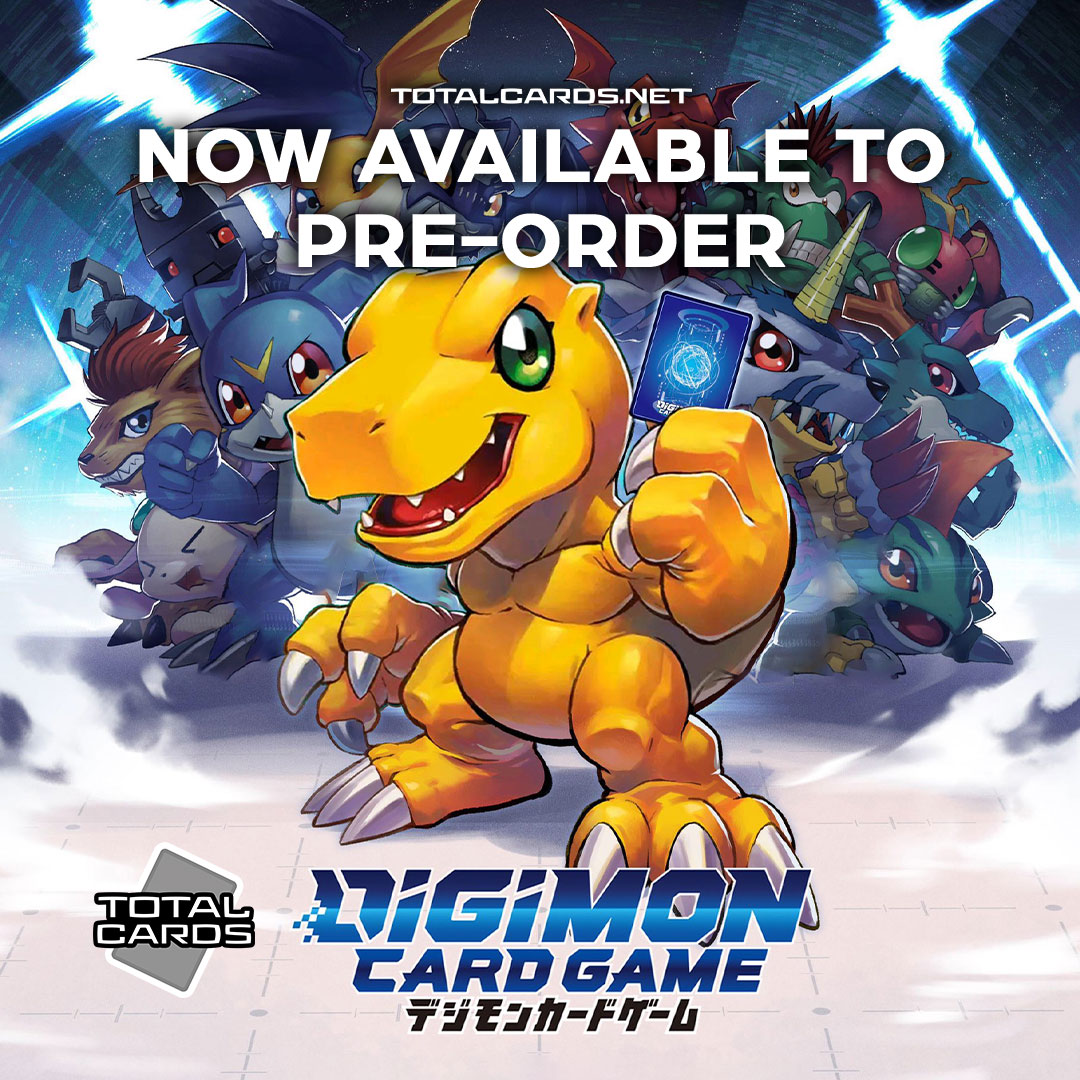 Digimon Card Game Now Available to Pre-Order!!!