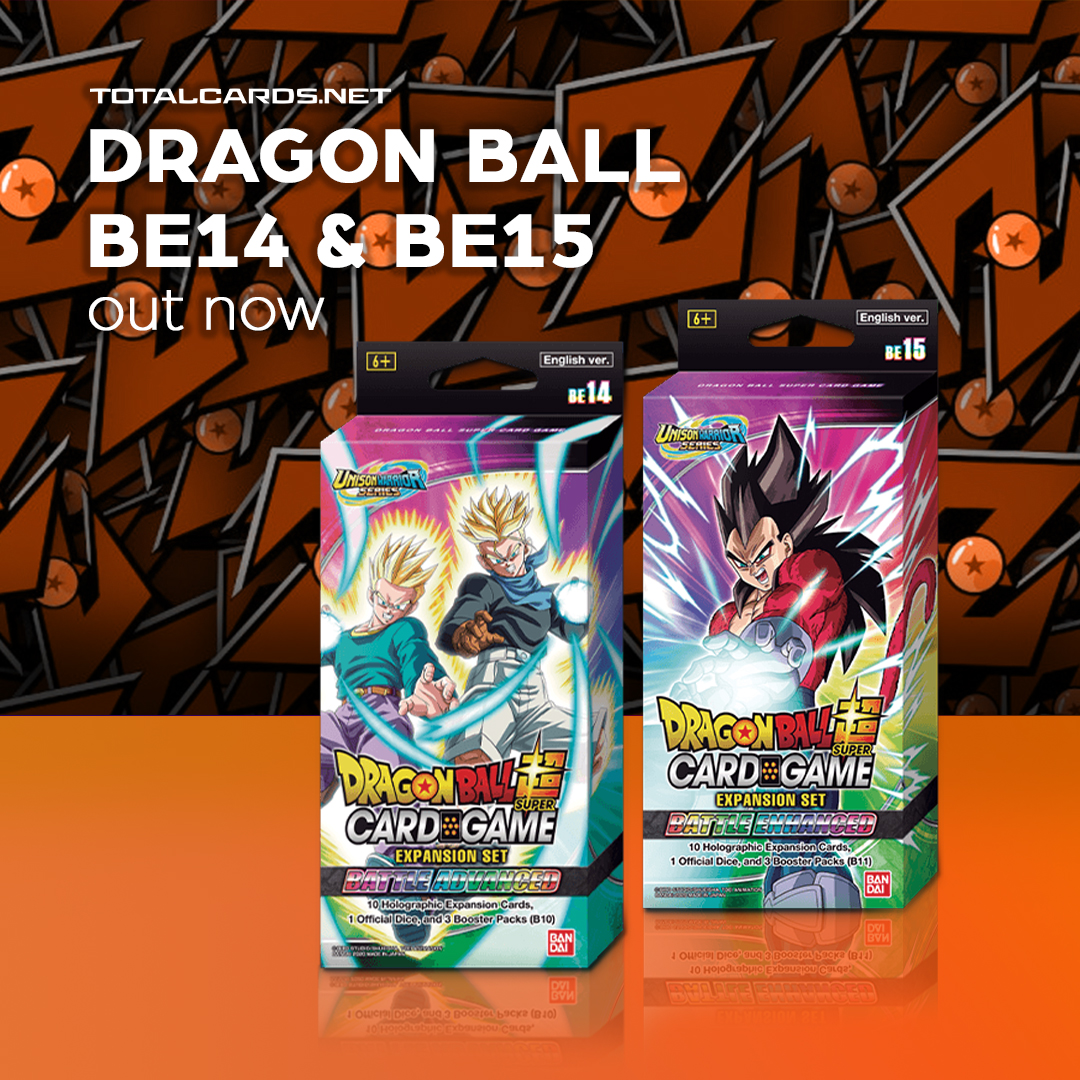 Dragon Ball Super B14 & BE15 is Out Now